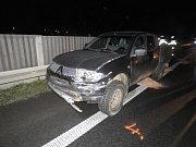K dopravní nehodě na tříramenné křižovatce silnice číslo I/38 a nájezdu ze silnice od obce Čáslav ulice Chrudimská došlo 11. prosince v 16.50 hodin.