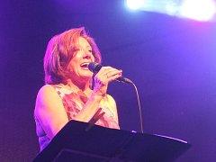 Marie Rottrová zazpívala v Kutné Hoře.
