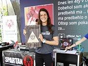 Kutnohorská Spartanka Martina Fabiánová skončila na Spartan Race Sprint v Nitře třetí.