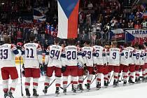 Ilustrační foto. Mistrovství světa v Bratislavě - čtvrtfinále Česko Německo.