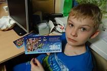 Děti si v Miskovicích užily tradiční Noc s Andersenem
