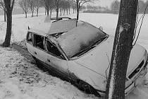 Nehoda u Malešova.