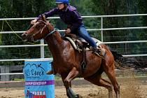 Sportovní den s koňmi na ranči Dalu Kozohlody ve Vlkanči.