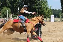 Na Ranči Dalu v Kozohlodech se konal Sportovní den s koňmi.