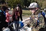 S úklidem řeky Sázavy pomáhali žáci základních škol