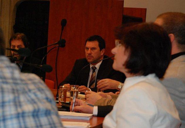 Zasedání kutnohorského zastupitelstva.