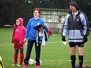 Fotbalový mistrovský turnaj mladších přípravek v Církvici: SK Církvice - FK Čáslav C 6:6.