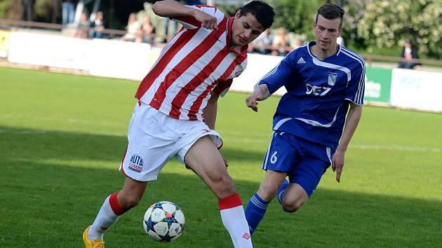 Kutná Hora porazila Letohrad 1:0, 17. května 2015.