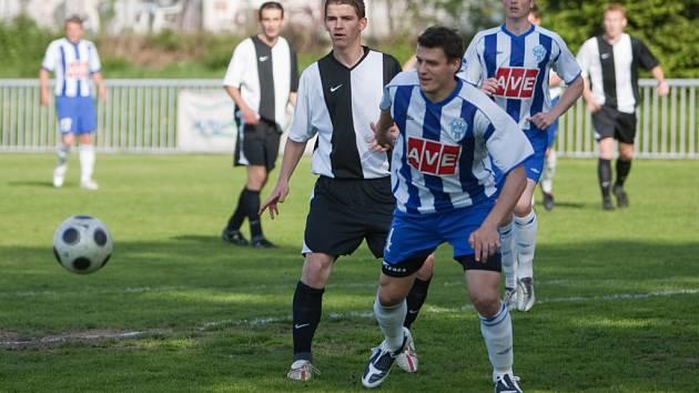 Z utkání I. A třídy U. Janovice - Čáslav B 0:7, sobota 9. května 2009