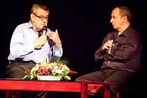 Beseda s režisérem Milošem Formanem v Čáslavi