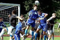 Fotbal: Zenit Čáslav - Dvůr Králové, starší dorost, 21. srpna 2010