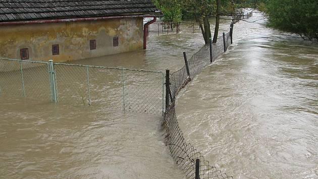 Povodně na Karvinsku.