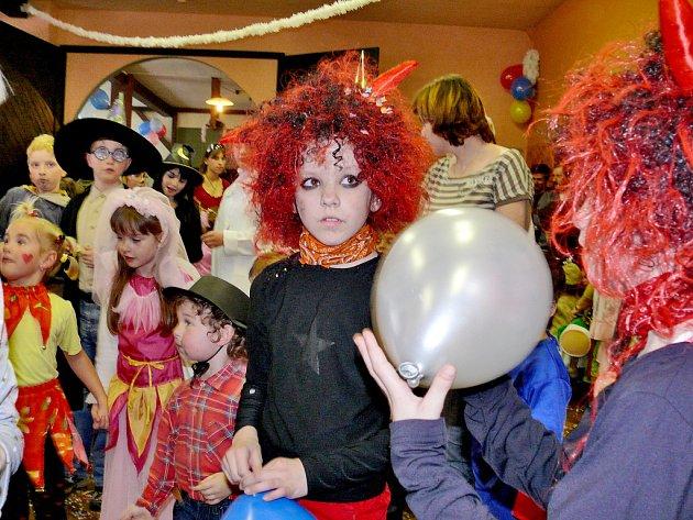 Dětský karneval v Suchdole