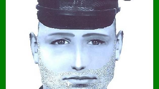 Pokud portrét tohoto muže poznáváte, volejte linku 158 nebo mobilní číslo 723 828 026.