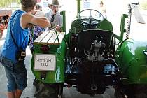 Pradědečkův traktor 2010.