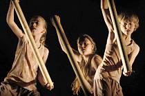Představení dětského scénického tance