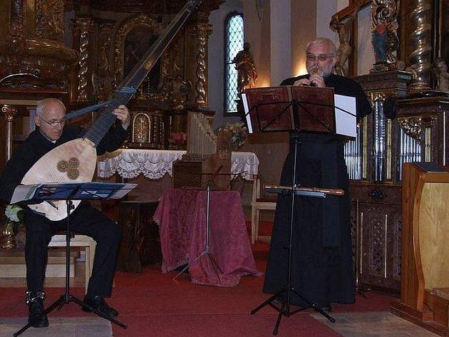 Musica da chiesa - Tomáš Najbrt (vlevo), Jaroslav Konečný.