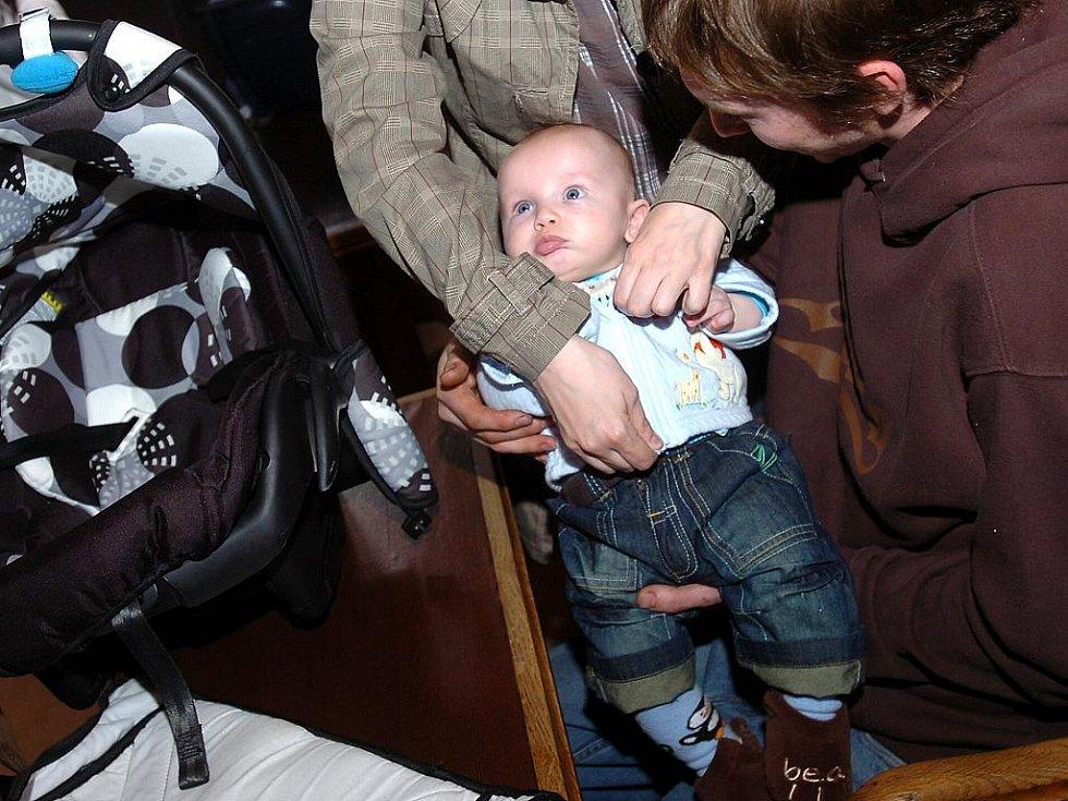 Vítání občánků v Kutné Hoře. 14. března 2011