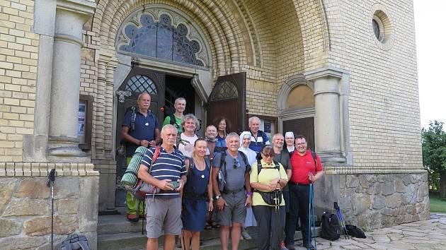 Kutnohorští poutníci došli až do Salzburgu.
