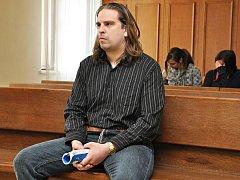 Filip Jiroušek v soudní síni.