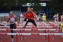 Kutnohorští mladší žáci se zúčastnili atletických závodů v Kolíně.