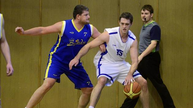 Kutnohorští basketbalisté nestačili v neděli na Mladou Boleslav B.