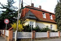 Rodný dům Miloše Formana v Čáslavi.