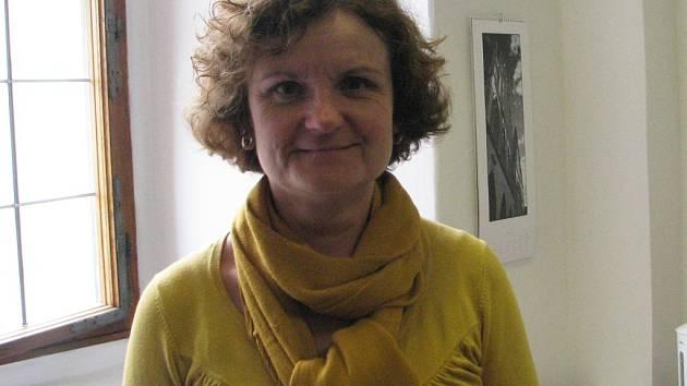 Stanislava Lisková, ředitelka Církevního gymnázia sv. Voršily v Kutné Hoře.