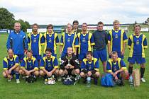 """Fotbalový turnaj """"O pohár starosty obce Zbraslavice"""", sobota 9. srpna 20008"""