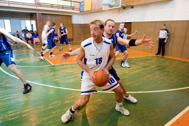 Z utkání K. Hora - Kolín B 50:63, neděle 5. října 2008