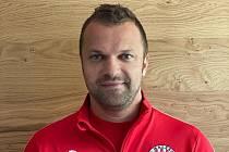 Fotbalista a manažer SK Malešov Jakub Procházka.