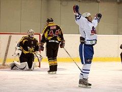 Exhibiční utkání Sršni Kutná Hora - HC Olymp Praha 10:12, 16. prosince 2012.