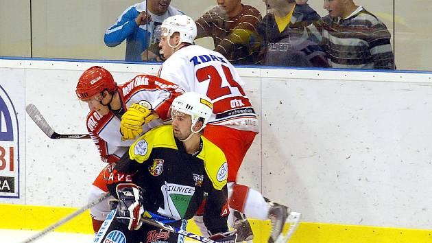 1. kolo II. hokejové ligy: Stadion Kutná Hora - SKLH Žďár n. S., 12. září 2010.