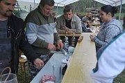 Rybářské slavnosti v Káčově
