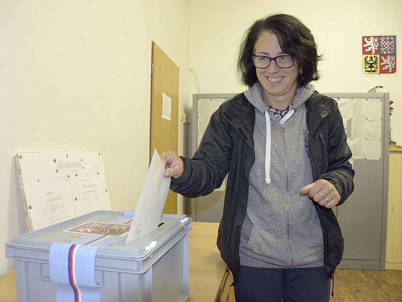 Parlamentní volby ve Slavošově.