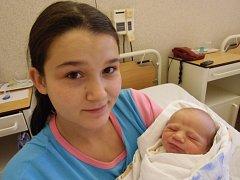 Lukáš Rakaš se narodil 16. listopadu v Čáslavi. Vážil 3050 gramů a měřil 50 centimetrů. Doma v Třebešicích ho přivítali maminka Emílie, tatínek Lukáš a sestra Emilka.