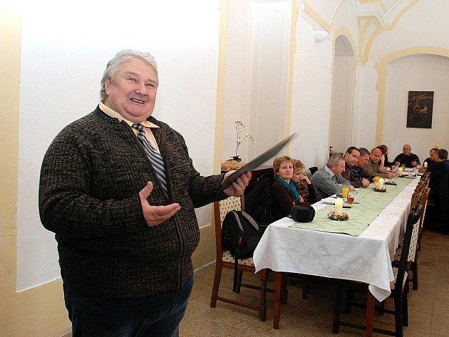 Záchranář Stanislav Pauš.