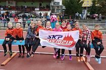 Přípravka SKP Olympia Kutná Hora v Berouně.