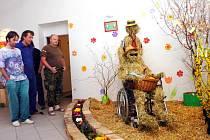 Velikonoční výstava v čáslavské Diakonii ve otevřena veřejnosti do konce března.