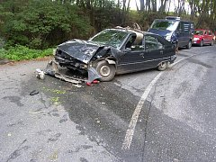 Dopravní nehoda u Kácova 3. září.