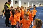 Ve Veletově absolvovali členové mini přípravky SKP Olympia Kutná Hora oddílové vánoční závody