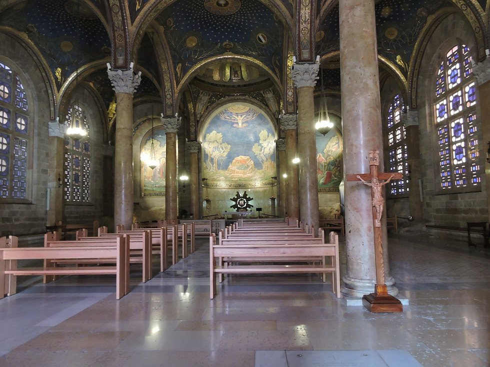 Kostel Všech národů v Getsemanské zahradě v Jeruzalémě.