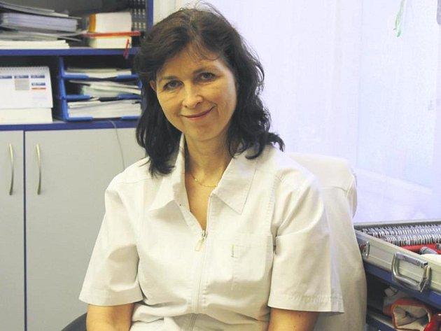 Petra Šmídová, oční lékařka z Čáslavi.