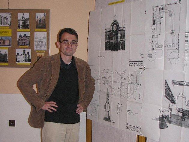 Marek Lauermann, koordinátor projektu Téměř zapomenuté tváře.