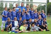 Z krajského finále starších přípravek v Čáslavi - 3. místo: FK Kolín.