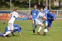 Z utkání divize dorostu st. dor. Čáslav - Ml. Boleslav B 0:2, sobota 9. května 2009
