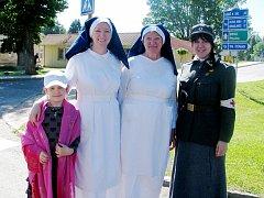 Zruč nad Sázavou 7. červen 2014: Průvod a položení věnců u příležitosti 100. výročí vypuknutí I. světové války