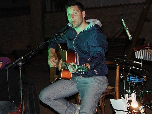 Martin Pisařík zazpíval v Kutné Hoře