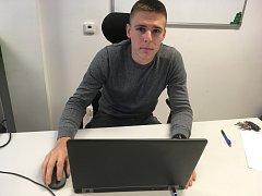 Hostem online rozhovoru Kutnohorského deníku je cyklista Jakub Kvalír.