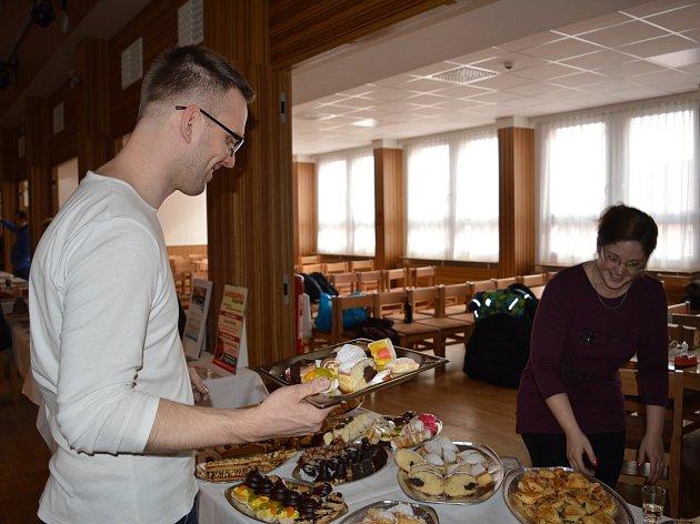 Veletrh regionálních potravin se uskutečnil poprvé v čáslavském Grandu v úterý 28. února od 10 do 13 hodin.